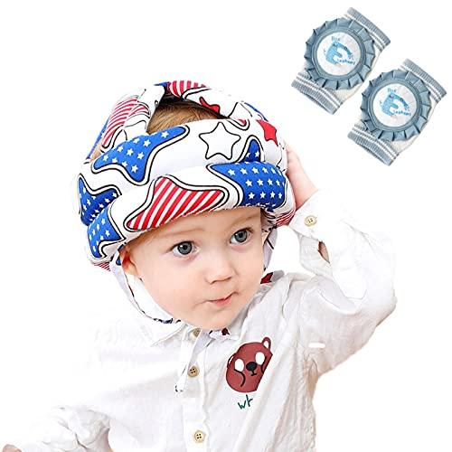 HXPainting Casco da Bambino Infantili Cappello di Testa di Cotone Cappello del...