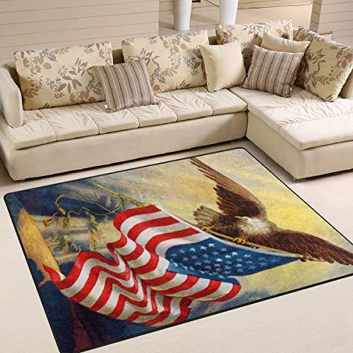 Bureaumat, zacht, 80 x 58 inch, voor woonkamer, slaapkamer, huis, keuken, vlag van ijskoningin, met witte kop, personaliseerbaar 63 x 48 inches Image 1009