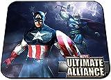 Marvel Ultimate Alliance Capitan America Thor Alfombrilla Mousepad PC