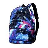 Flush The Turd On November Third Unisex Star Rucksack Galaxy Sky Printed Shoulder Bag