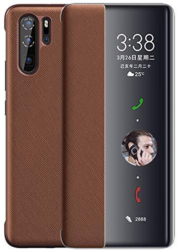 Hoogwaardige lederen mobiele telefoon case geval voor Huawei P20 Pro/Mate 20/10/30/40 / X/RS. Flip/automatisch slapen/wekken/multifunctionele slimme houder/hoes/telefoonhoesje