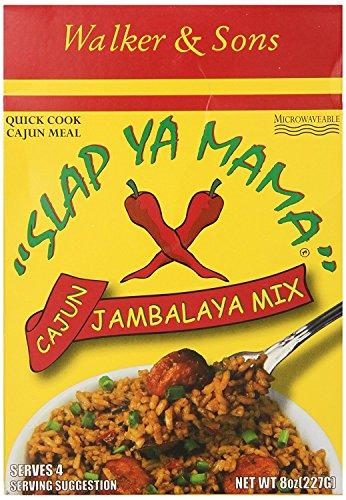 Slap Ya Mama Louisiana Style Jambalaya Dinner Mix, Quick & Easy Cajun Meal, 8 oz Box, Pack of 3, 3Count