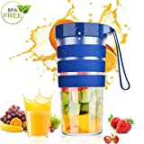 Portable Blender,Personal Blender Juicer,USB Rechargeable Mini Mixer for Home,Office,Sports,Travel,Outdoors,300ml