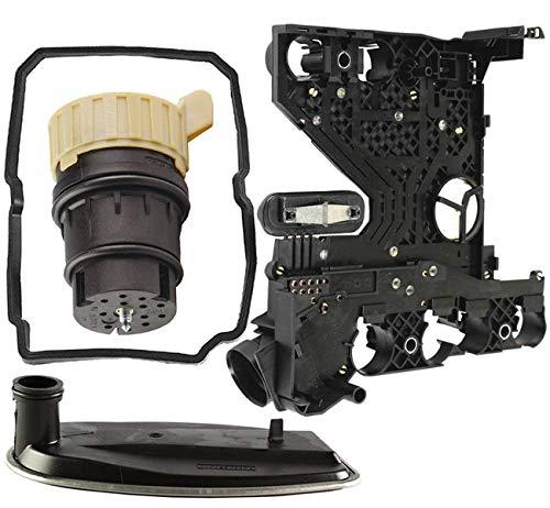 Bapmic 1402701161 Automatikgetriebe Steuereinheit Satz Platine Elektriksatz+Filter+Stecker+Gummidichtung für 722.6