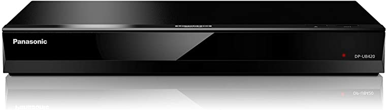 Panasonic Streaming 4K Blu Ray Player, Ultra HD Premium Video Playback with Hi-Res Audio, Voice Assist - DP-UB420-K (Black)