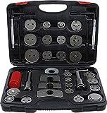 Kraftmann 91115 | Juego de reposicionadores de pistones de freno | 35 piezas