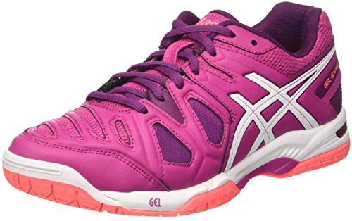 Asics Gel-Game 5 W, Zapatillas de Tenis Mujer, Multicolor (Berry/White/Plum), 37.5 EU