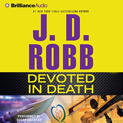 Devoted in Death audiobook cover art
