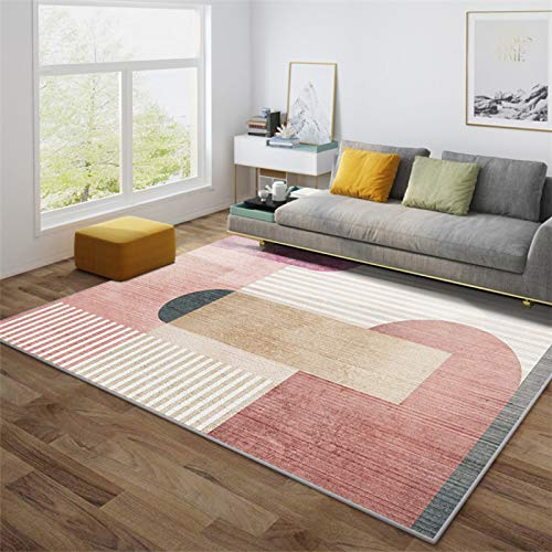 MENEFBS Alfombra de cabecera Alfombra Fuffy Alfombra de piel de oveja Alfombras para sala de estar dormitorio sofá piso 200*300cm