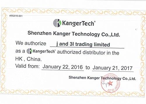Kanger Kangertech Subohm SSOCC Coils 0,50 ohm Ersatzverdampfer (Subtank, Nebox und Subvod) 5er Set