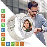 Tipmant Montre Connectée Femmes Homme Enfant SN08 Smartwatch Supporte la Carte SIM...