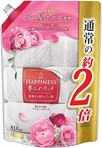 【P&G】レノアハピネス 夢ふわタッチ 華やかに香るアンティークローズ詰替用 810mL ×8個セット
