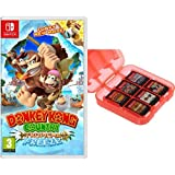 Donkey Kong Country: Tropical Freeze + Funda para almacenamiento...