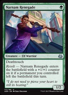 Magic The Gathering - Narnam Renegade (117/184) - Aether Revolt