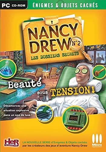 Les dossiers secrets de Nancy Drew: Beauté sous tension ! [Importación francesa]