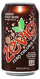 Zevia Zero Calorie Soda, Ginger Root Beer, Naturally Sweetened Soda, Ginger Root Beer-flavored...