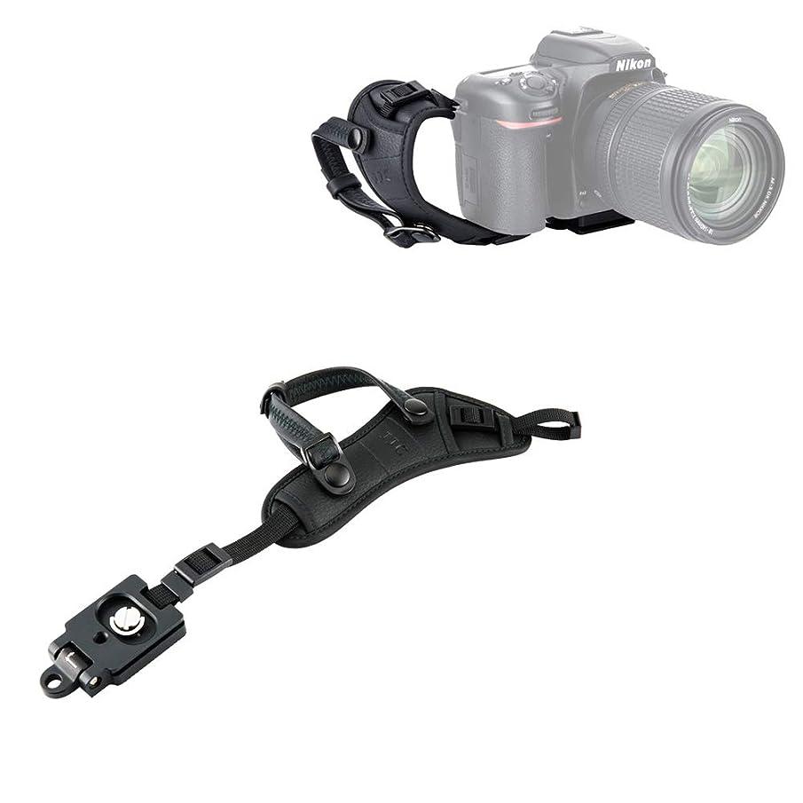 JJC Deluxe Camera Hand Strap with Quick Release Plate for Nikon Coolpix P1000 P900 B700 B500 Panasonic Lumix FZ80 FZ300 FZ1000 II FZ2500 Canon PowerShot SX70 SX60 HS Sony HX400V HX300 H400 H300 & More