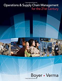 By Ken Boyer Operations and Supply Chain Management for the 21st Century (with Printed Access Card) (Available Ti (1st First Edition) [Hardcover]