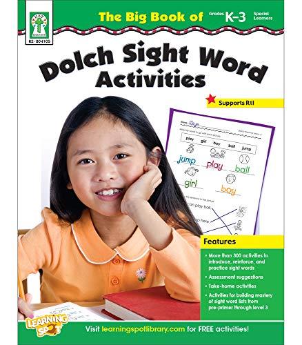 Key Education | Dolch Sight Word Activities Resource Workbook | Kindergarten–3rd Grade, 384pgs