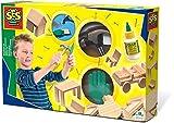 SES Set de carpintería para niños, Multicolor (00943)