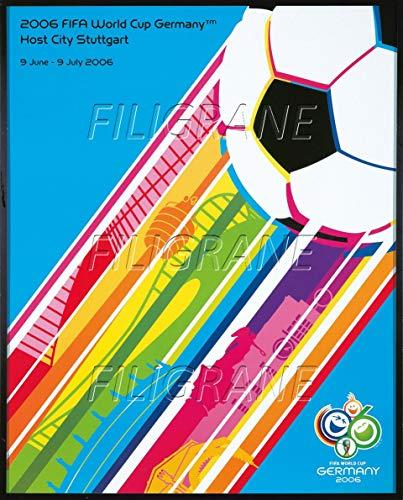 PostersAndCo  FIFA World Cup Germany 2006 Rgrz-Poster/Riproduzione 40 x 60 cm x 1 Poster Vintage/Retro