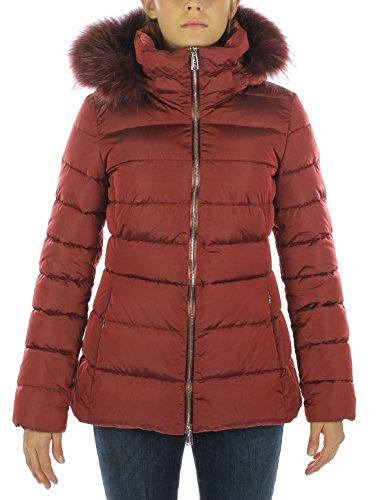 Add Damen Fur Border Jacke, Rot (Cranberry 2554), 38