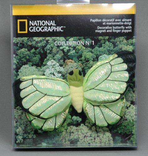 Jemini - 50391 - Peluche - Papillon National Geographic Phoebus