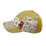 Wegener Mädchen Baseball Cap Schirmmütze Sommermütze in Gelb Gr. 54