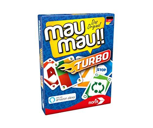 Noris 608131751, Mau Mau Turbo, der Klassike, eigenständig oder mit einem