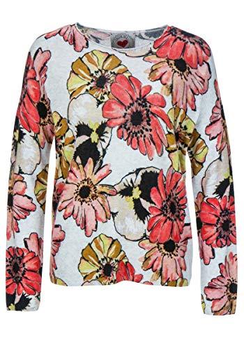 FROGBOX Pullover Damen Flower 888-888070 (36)