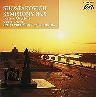 SHOSTAKOVICH:SYM NO.5 & FESTIVE OVERTURE by ANSERL & CZECH PO (2003-07-23)