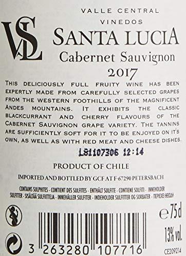 Santa Lucia Cabernet Sauvignon Rouge Chile (6 x 0.75 l) - 6