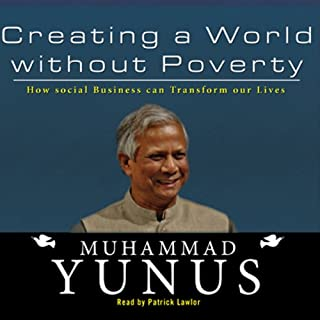 Creating a World Without Poverty audiobook cover art