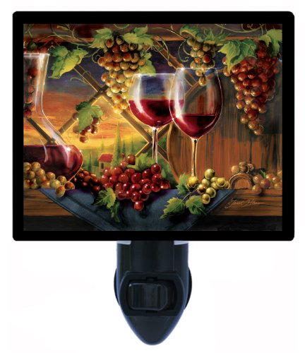 Kitchen Night Light, Tuscan Sunset, Wine