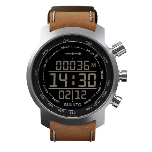 Suunto Elementum Terra Leather Watch - Brown by Suunto