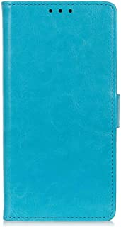 Flip Case for Samsung Galaxy S20, blue PU Leather Cover (Compatible with Samsung Galaxy S20)