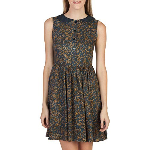 Bioworld Merchandising Independent Sales Womens Fantastic Beasts and Where to Find Them All over Print Dress 2X