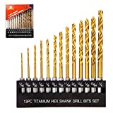 INTOO Drill Bit Set 13 Piece 1/16