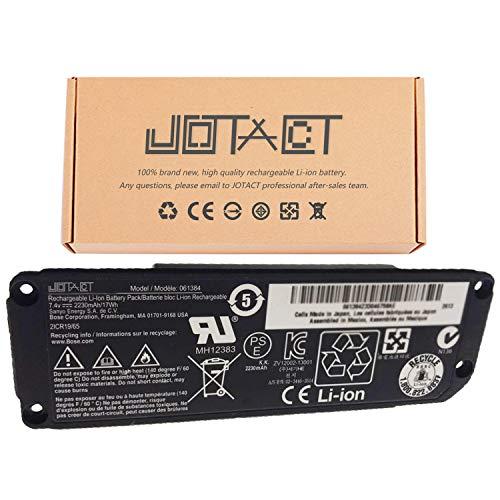 JOTACT 061384 (7.4V 17W/2230mAh 2-Cell) Speaker Battery Compatible with Soundlink Mini I one Bose SoundLink Mini Bluetooth Speaker one Series SOUDLINK 061385 061386 063404 063287