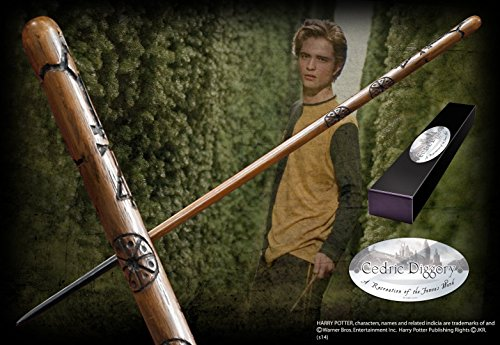 The Noble Collection Cedric Diggory - Varita de Personaje