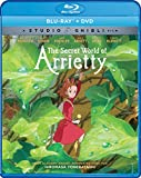 The Secret World Of Arrietty (Bluray/DVD Combo) [Blu-ray]