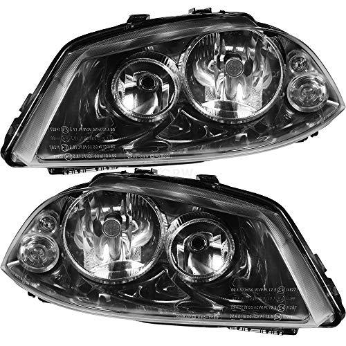 Scheinwerfer Set für Ibiza III 3 Typ 6L Bj. 02-06 H7+H3