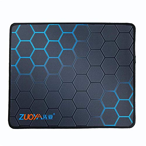 asdfg Gaming Mouse Pad Locking Edge Mouse Mat Natural Rubber Pad for Warcraft Mouse pad Office Game,ZUOYA 290