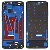 Fulvit Spare Part Front Housing LCD Frame Bezel Plate for Huawei Honor 8X (Black) (Color : Blue)