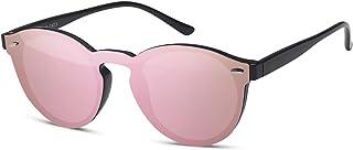 b0df2179d8 styleBREAKER gafas de sol con un solo cristal con lentes planas y patillas  de plástico,