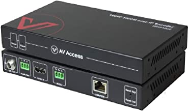 $94 » AV Access 1080P HDMI Extender Over IP Decoder, Many to Many or Direct Cat5e / 6, 395ft (120m), Plug & Play Without Configu...
