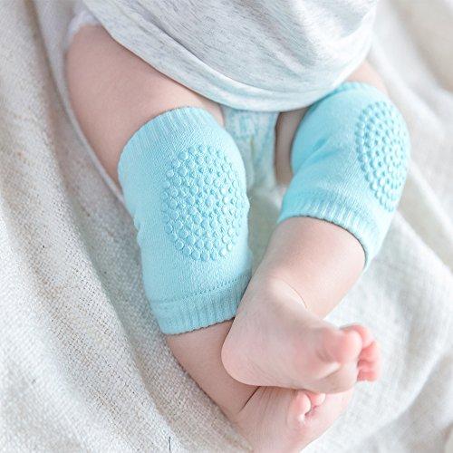 Baby Crawling Anti-Slip Knee, Unisex Baby Toddlers Kneepads 5 Pairs