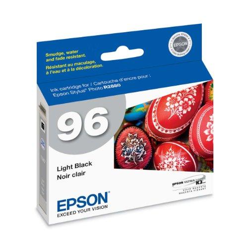 Epson T096720 Stylus Photo R2880 Printer UltraChrome K3 Ink Cartridge (Light Black)