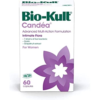 Bio-Kult Candea - 60 Capsules - Probiotic for Intimate Flora, Probiotic for Women, Probiotic for Men, with Garlic and Grapefruit Extract