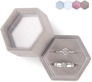 custom ring box velvet
